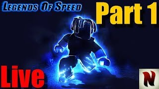 Legends Of Speed Roblox Francais Part 1