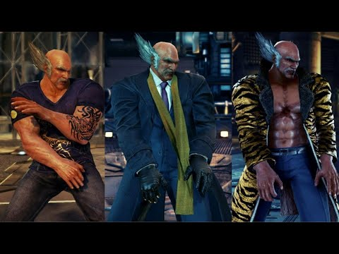 tekken 7 heihachi unlockable costumes showcase youtube tekken 7 heihachi unlockable costumes showcase