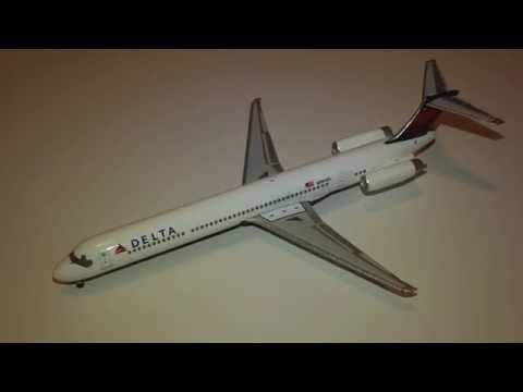 Delta air lines McDonnell Douglas md-88 1:200 Flight miniatures md88