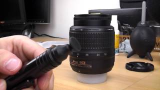How to clean your DSLR camera lens Tutorial