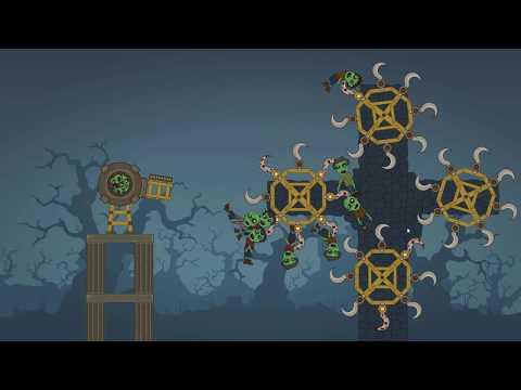 Impale 4 Part 2, 25- 50 levels last part of zombie cannon game