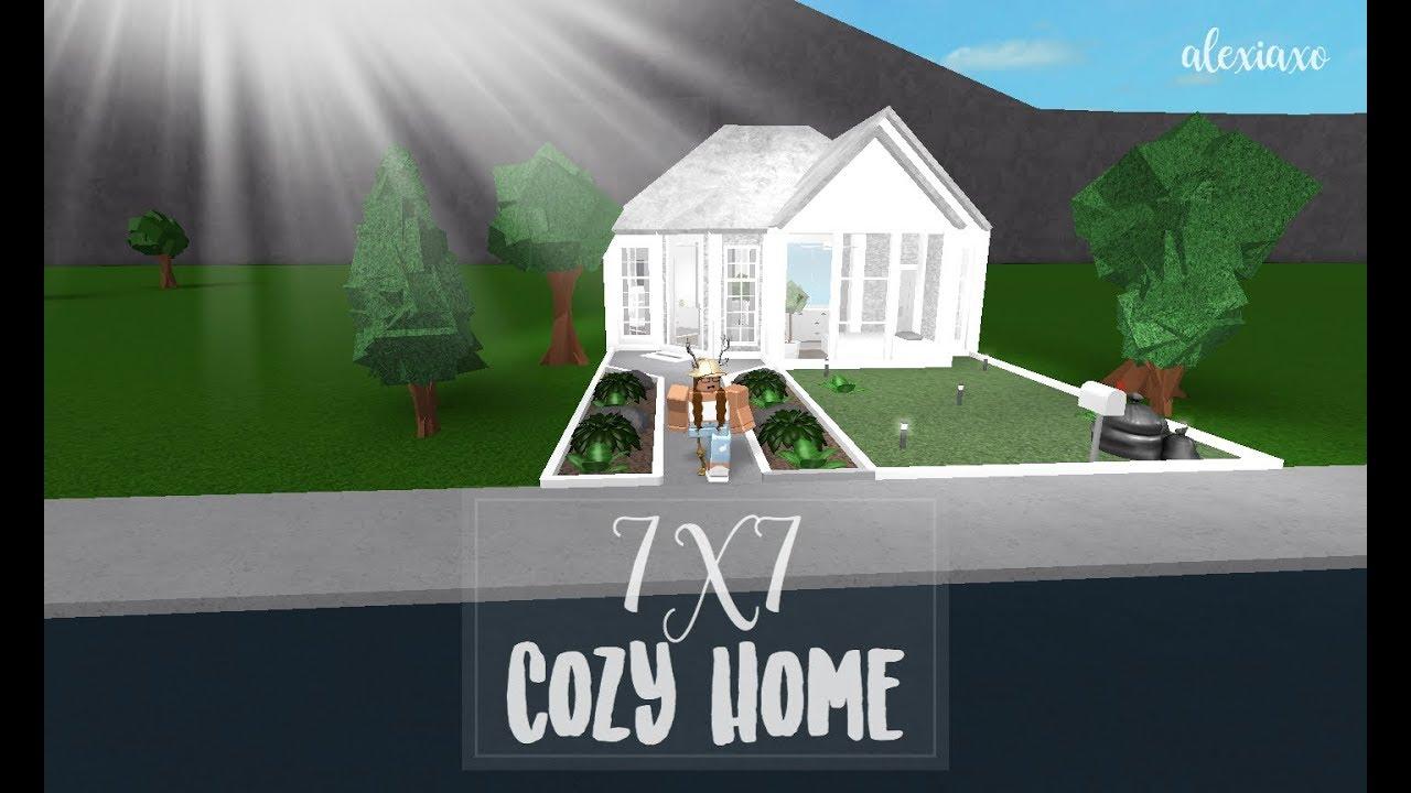 Roblox Bloxburg 7x7 Cozy Home 26k Youtube