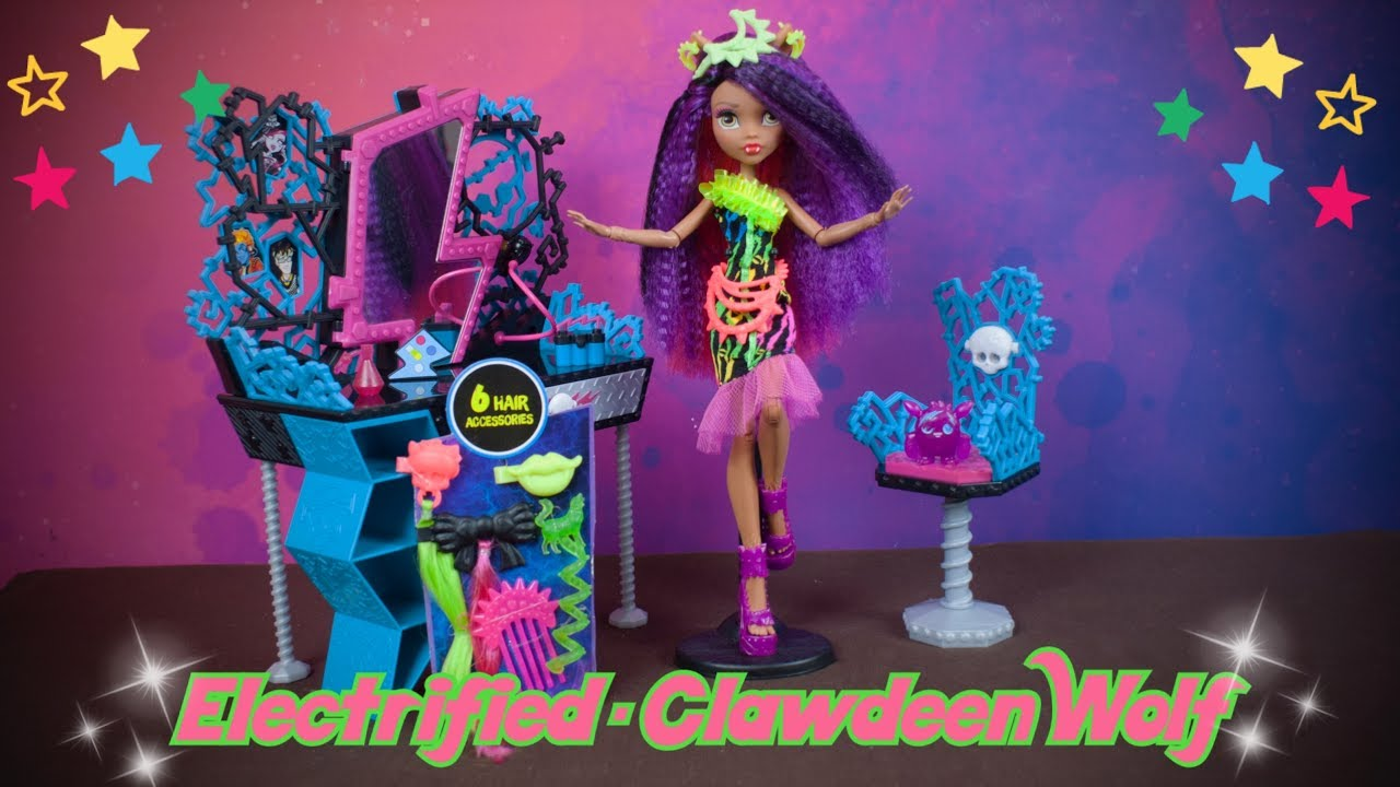 Download Monster High Electrified - Clawdeen Wolf