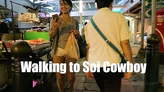Bangkok Night Walk - Soi Nana to Soi Cowboy