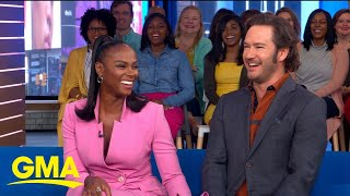 Mark-Paul Gosselaar and Tika Sumpter talk new show 39Mixed-ish39 l GMA