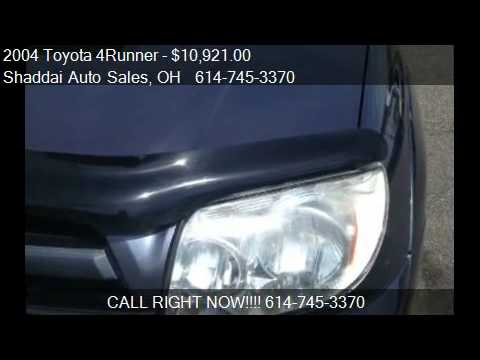 2004 Toyota 4Runner SR5 4WD - for sale in Whitehall, OH 4321