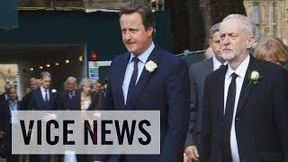 British leaders pay tribute to slain MP Jo Cox
