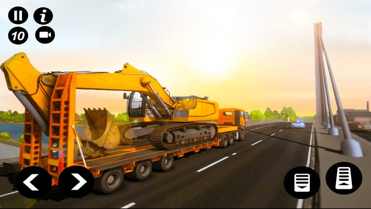 Road Construction Simulator - Road Building Games 2020 - Android Gameplay