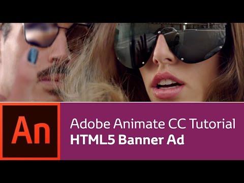 Animate CC Tutorial: Create a Banner Ad