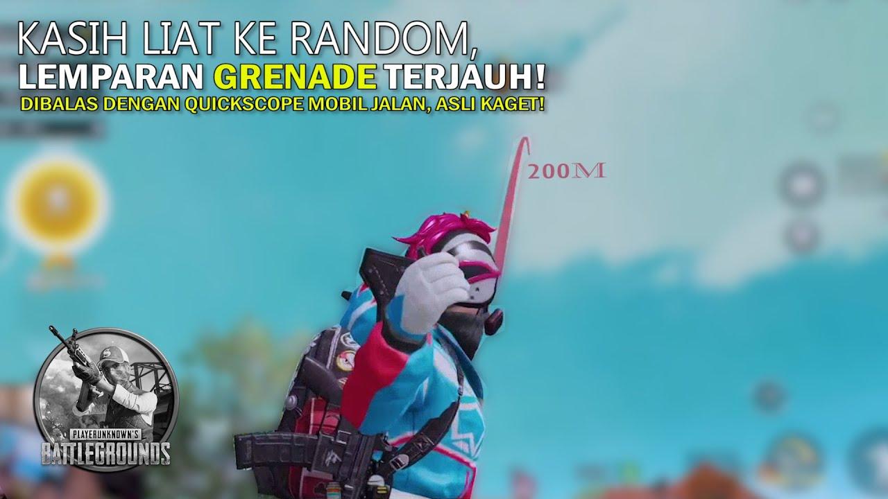 Dibikin Kaget Dengan QUICKSCOPE Random Squad ini, NEMBAK MOBIL JALAN HEADSHOT! - 20 KILLS+ PUBGM
