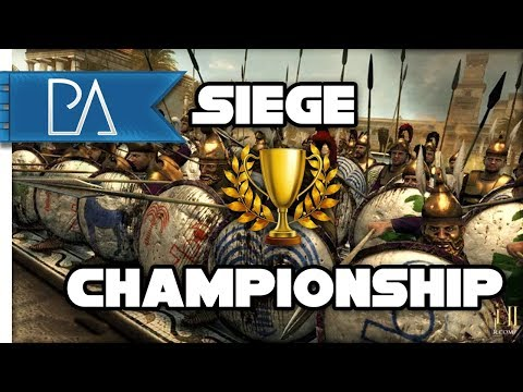 Battle Of The Best! - Siege Tournament Finale #1 - Total War: ROME 2