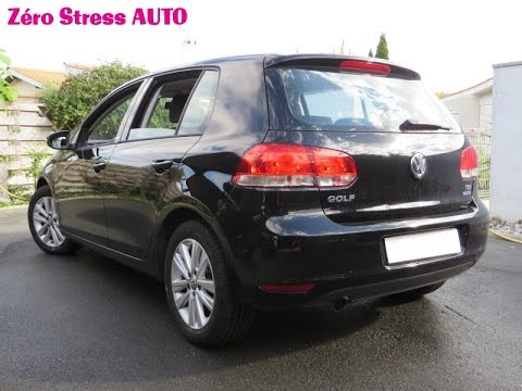 video volkswagen golf 6 bluemotion 1 6 tdi 105 style confortline gps alpine ine s900r zsa youtube. Black Bedroom Furniture Sets. Home Design Ideas