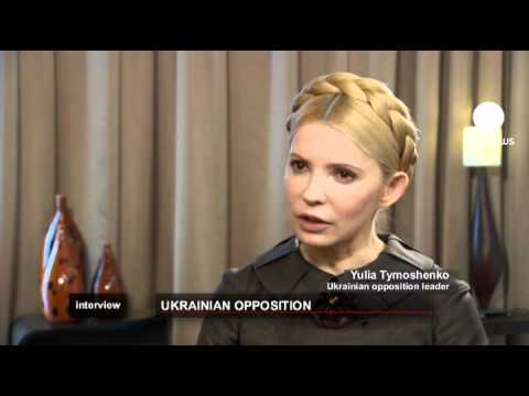 euronews interview - Tymoshenko: 'I will never abandon Ukraine'