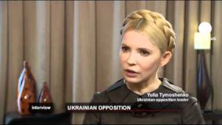 euronews interview - Tymoshenko: