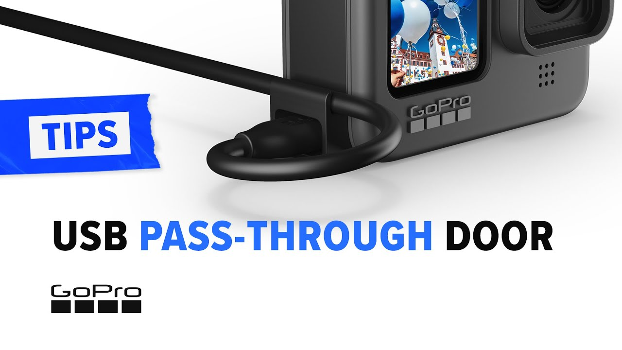GoPro:  How to Use The USB Pass-Through Door | The Must-Have Accessory for Extended Timelapse Shots