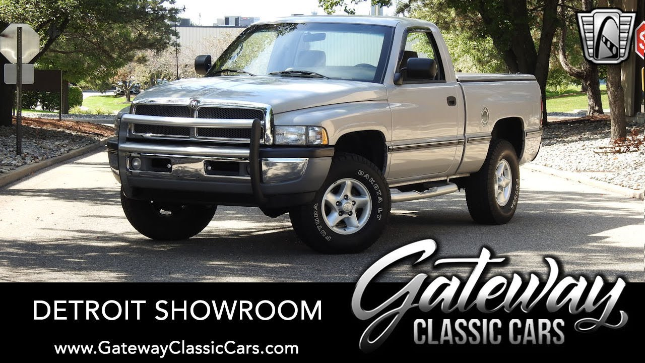 1996 Dodge Ram 1500 Gateway Classic Cars Of Detroit 1512det Youtube
