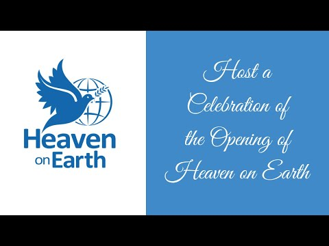 Conversation for Those Wanting to Host a Celebration of Heaven on Earth