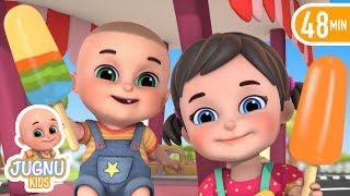 Ice Cream Wala | Ice cream song | rhymes in hindi | by Jugnu kids
