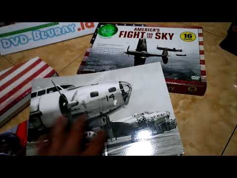 America's Fights For The Sky -  DVD World War II - Box Set Unboxing Review