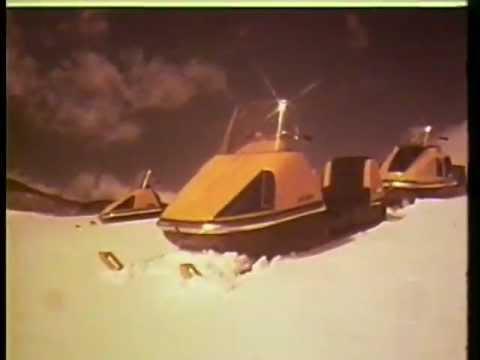 Ancienne publicité Ski-Doo : Chez nous c'est Ski-Doo