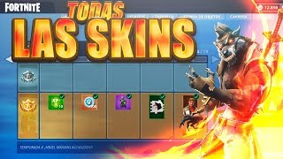 *ALL SKINS* LEVEL 100! *SEASON 6* ALL UNLOCKED - FORTNITE: Battle Royale