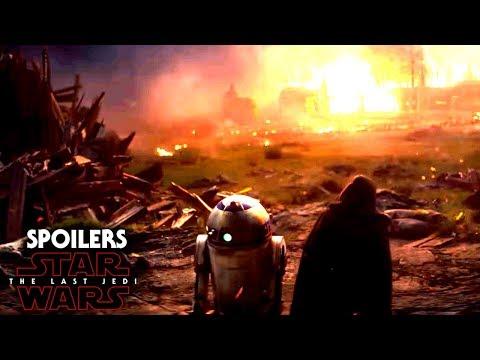 Star Wars The Last Jedi Spoilers Of Luke, His Temple & More!