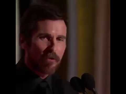 Christian Bale Thanks Satan Hollywood Laughs