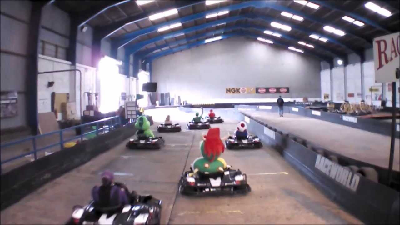 how to race go karts