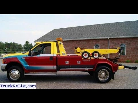 Ford F  Xlt Twin Line Wrecker Tow Truck For Sale