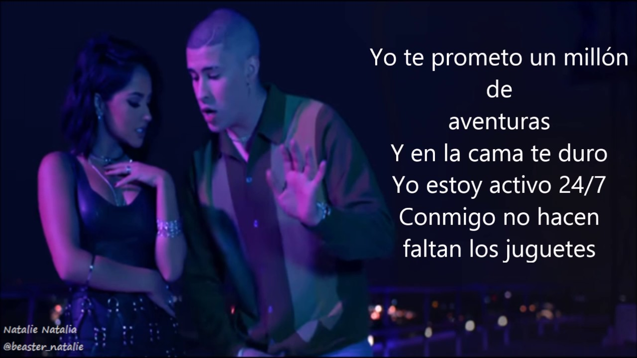 Becky G Mayores Ft Bad Bunny Lyricsletra Youtube