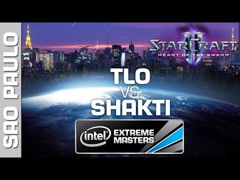 TLO vs. Shakti - Group B - IEM Sao Paulo - StarCraft 2