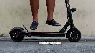 What are the functions of electric scooters?