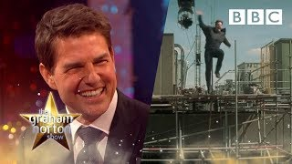 Footage Of How Tom Cruise Broke His Ankle On Set | The Graham Norton Show - Bbc