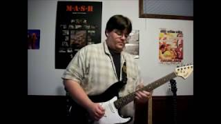 38 Special - Hold on Loosely (lead guitar cover - VIDEO)