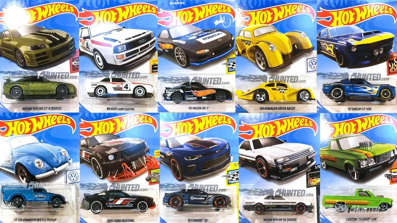 new 2019 b case hot wheels cars youtube. Black Bedroom Furniture Sets. Home Design Ideas