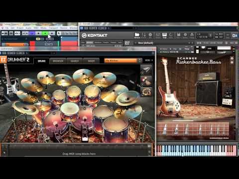 Kostofan - Nenia (Dismember cover) _ (EZDrummer + Scarbee Rickenbacker Bass + Guitar Rig 5)