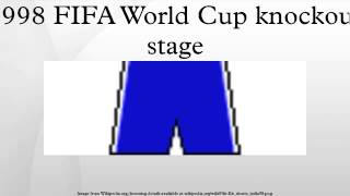 1998 FIFA World Cup knockout stage