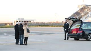 Il Presidente Mattarella accoglie la salma di Antonio Megalizzi