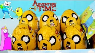 Huevos Sorpresa Adventure Time | Adventure Time Chocolate Surprise Eggs