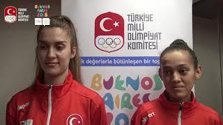 Milli Taekwondocularımız Gençlik Olimpiyatları Yolunda