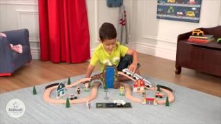 Houten speelgoedtrein Euro Express - Kidkraft 17989