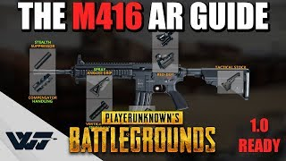 GUIDE: How to PROPERLY use the M416 Assault Rifle (It's Awesome) in PUBG