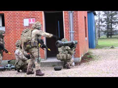 Danske Soldater Træner Med Allierede Under White Sword