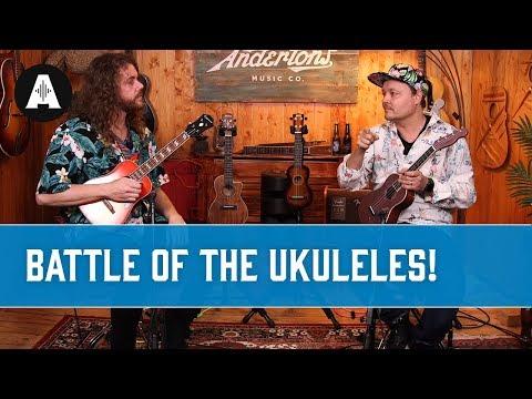 Ukulear Wars! Battle Of The Ukuleles...