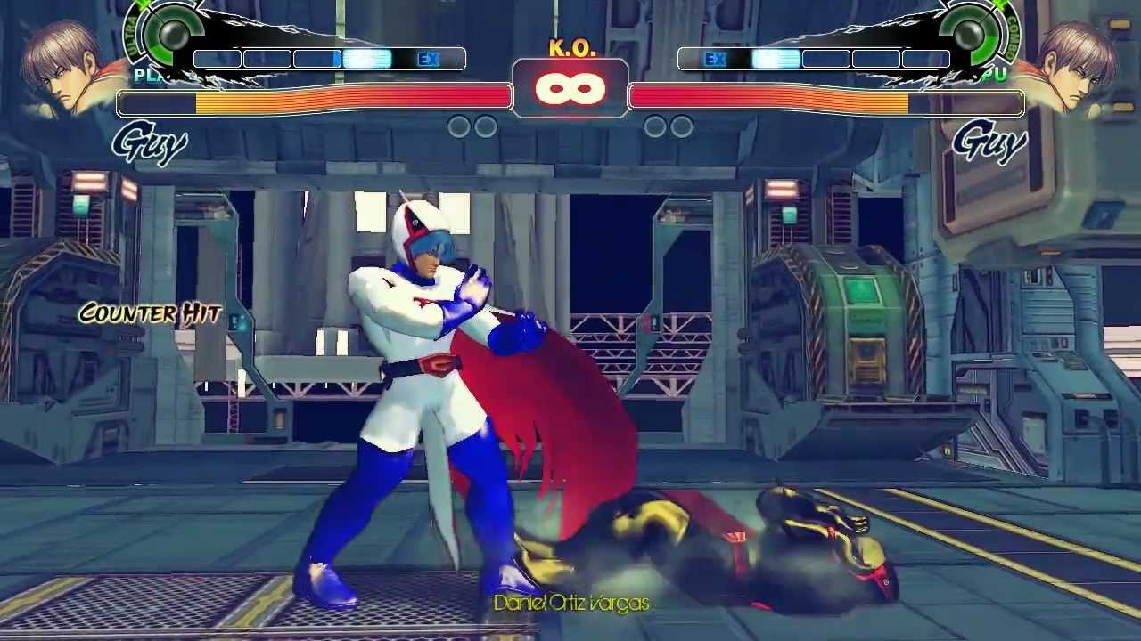 Super Street Fighter 4 Pc Ken The Eagle Gatchaman Cosmic