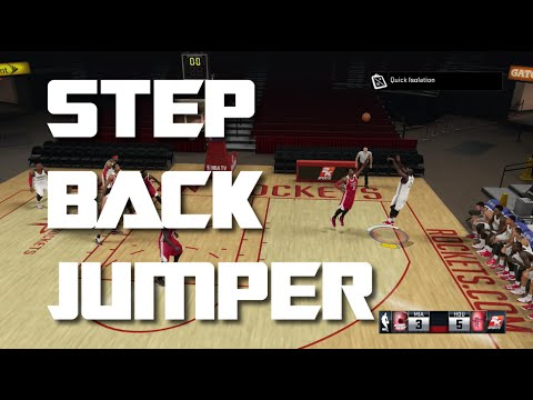 NBA 2K15 Step Back Jumper Tutorial