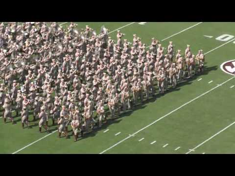 Fightin' Texas Aggie Band Halftime Show - UCLA Game at Kyle Field on September 3, 2016