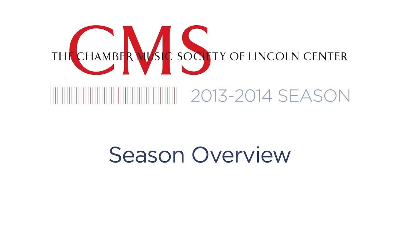Season Overview - 2013-2014 CMS Season Preview