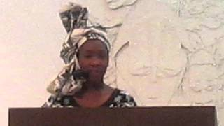 2013 NAMISS Oklahoma Jr. PreTeen share 7 Principles of Kwanzaa