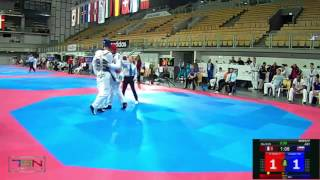 519-Aiukaev, Rafail (RUS) vs El Yazidi, Omar (FRA) 4-7